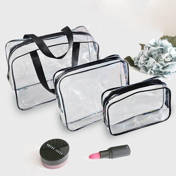 mẫu túi xách mỹ phẩm chất liệu trong suốt